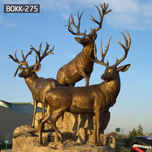 cheap elk yard sculpture price for home decor
