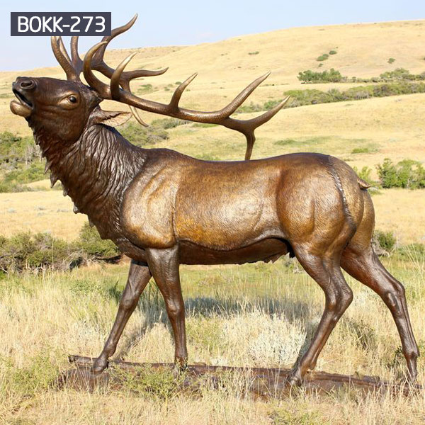 copper life size stag outdoor statue price