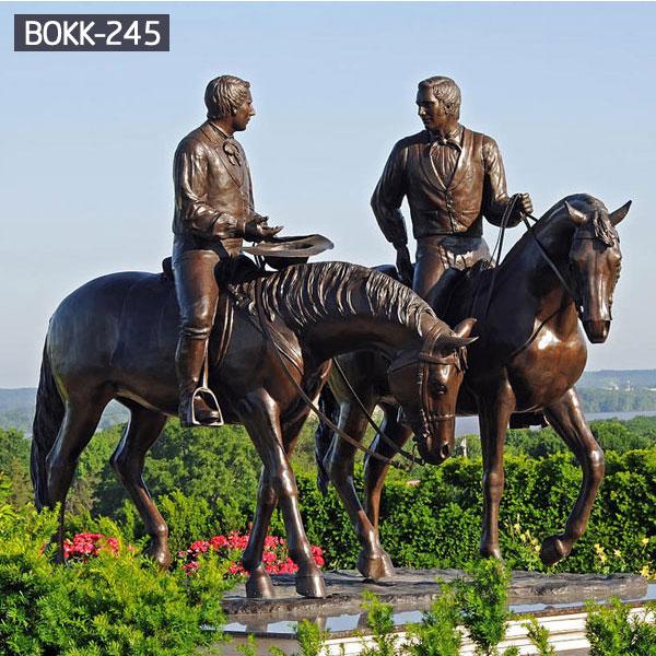 Large black famous bronze horseman statues ebayBOKK-245