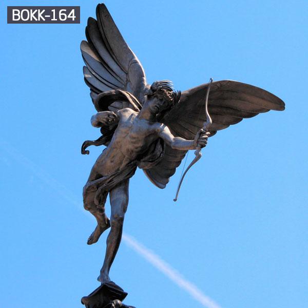 Life size bronze casting cupid garden statue outdoor BOKK-164