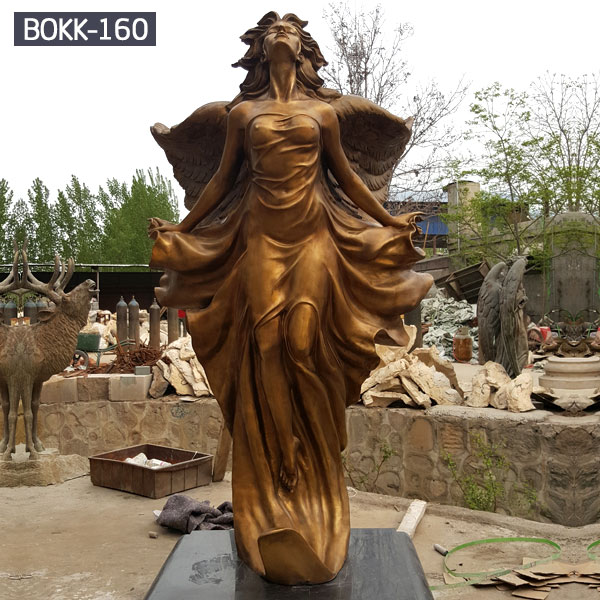 Outdoor bronze art nude goddess statue for garden decor BOKK-160