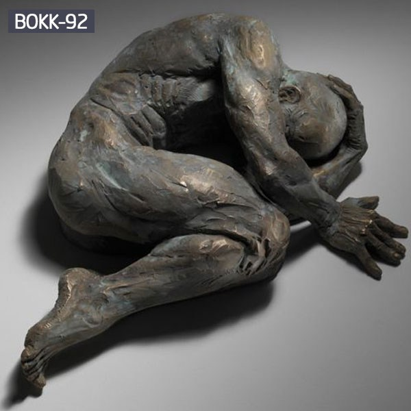 Wall Art Design The Pugliese Man Bronze Statue BOKK-92