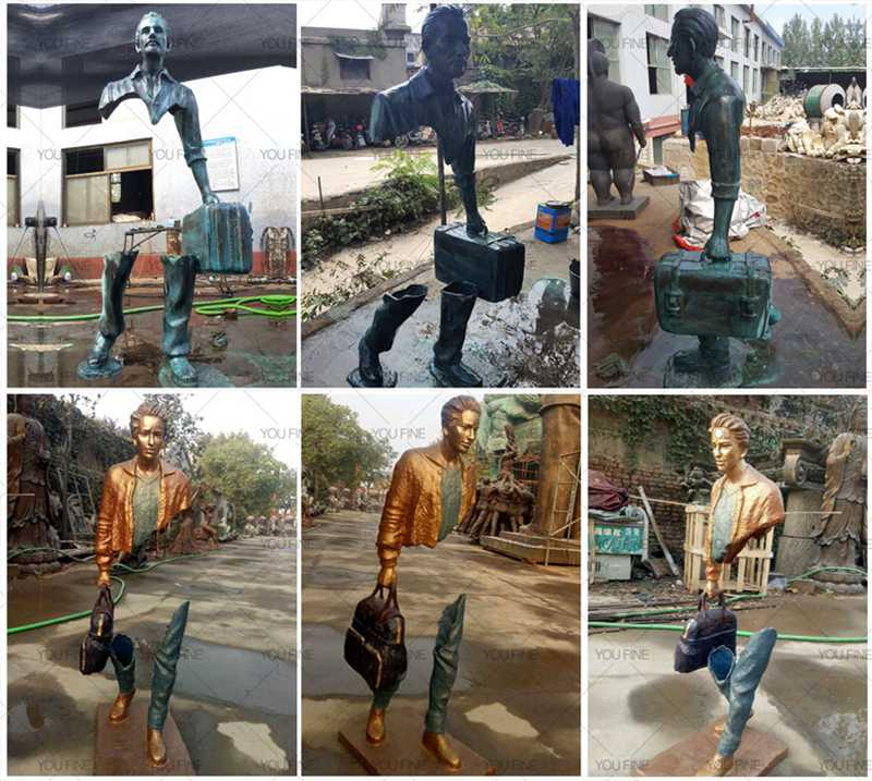 self made woman statue,