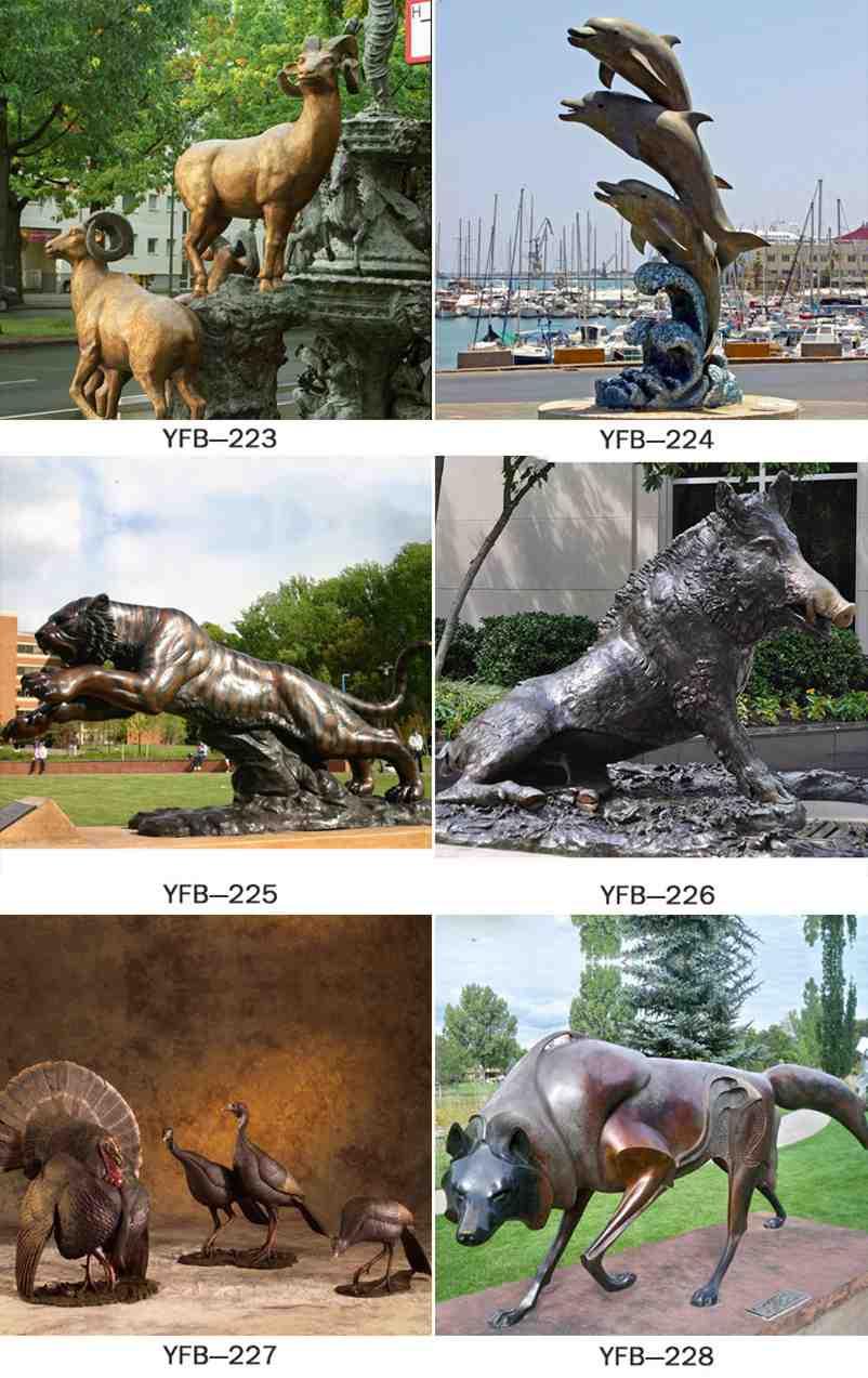 outdoorLeopard statue,