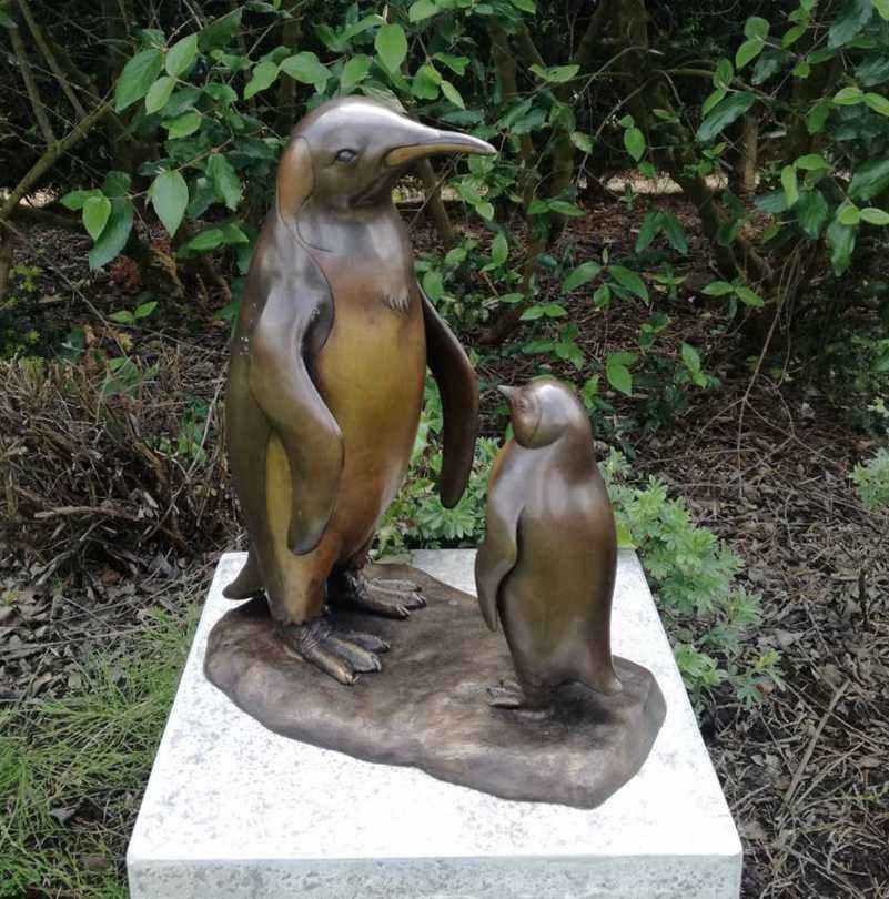 Life Size Bronze Penguin