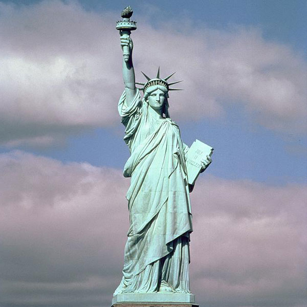 Life Size Casting Bronze Sculpture of Liberty from Factory Supply BOKK-471