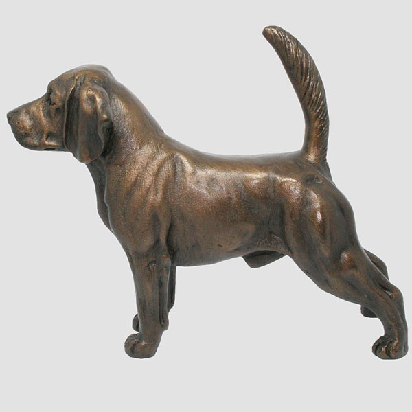 Lowest Price Modern Family Bronze Dog Sculpture Manufacturer BOKK-538