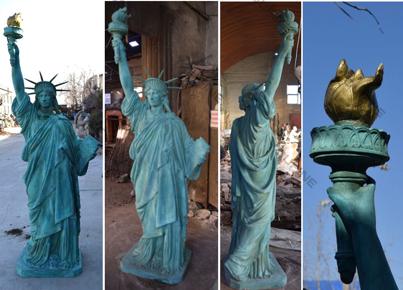 Bronze Statue of Liberty