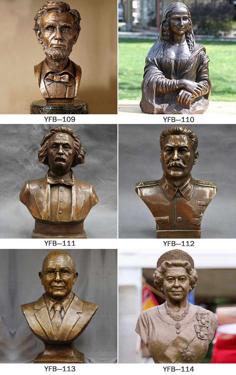 Famous Bronze Bust