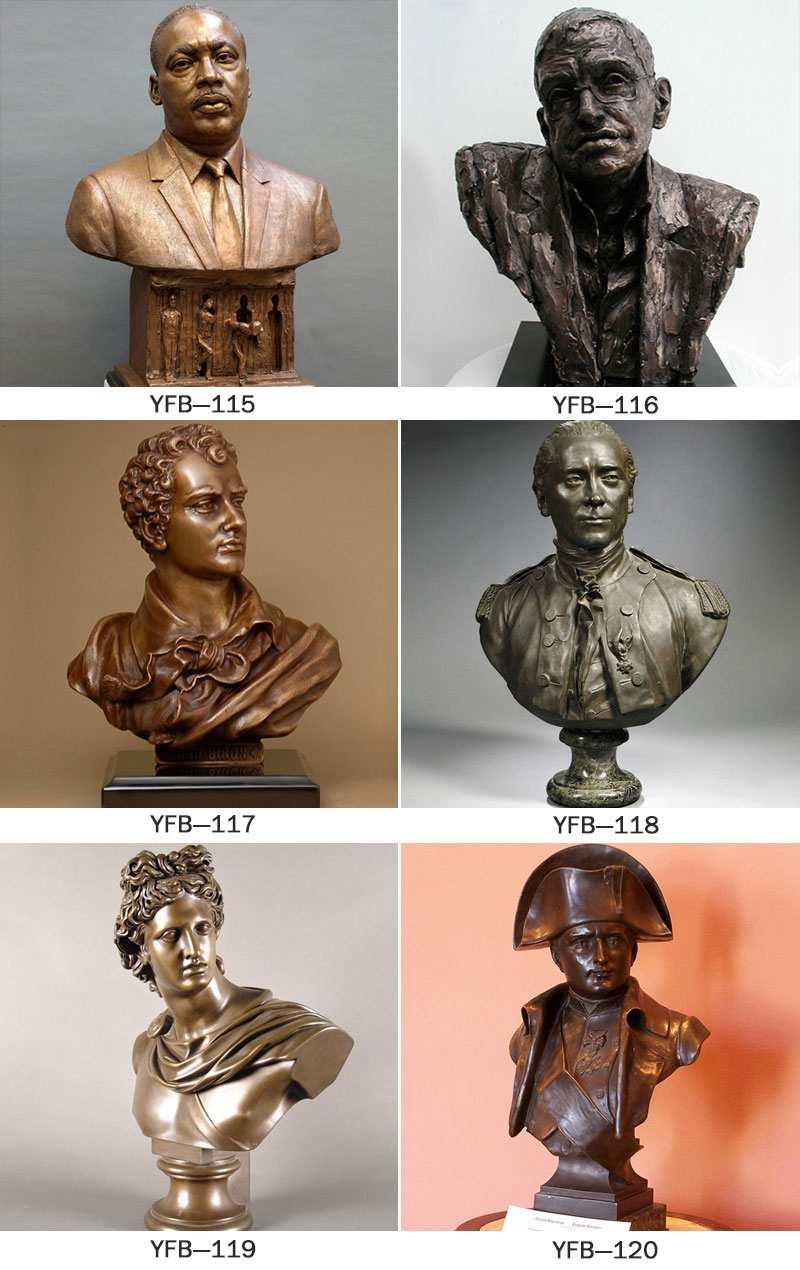 Einstein bronze bust