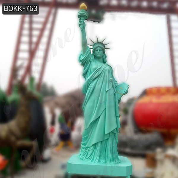 Carving World-renowned Bronze Statue of Lady Liberty Replica Online BOKK-763