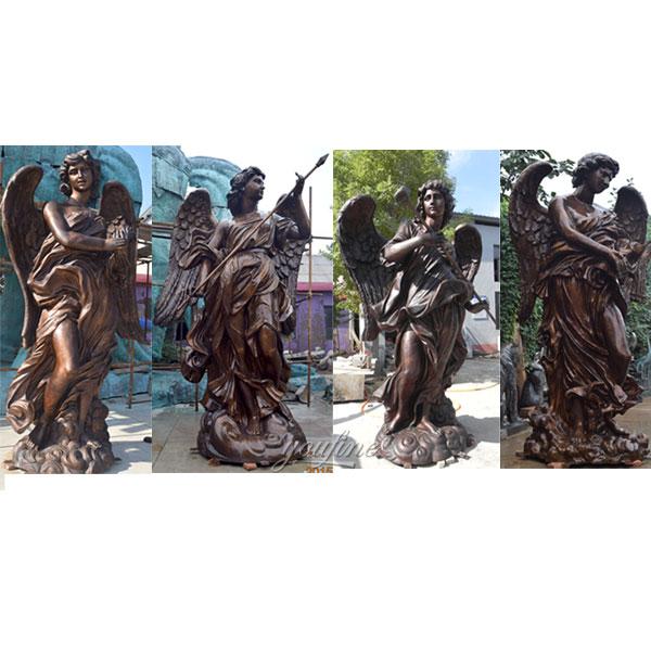 Famous Artistic Bronze Women Angel Statue by Bernini Replica for Sale BOKK-479