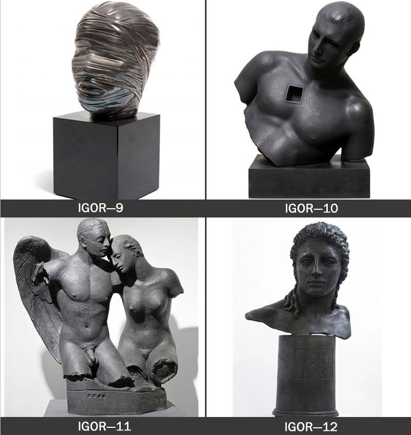 Famous Bronze Hollow Head Sculptures,