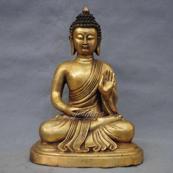 Customized Life Size Bronze Buddha Sculpture of Shakyamuni Decor Online BOKK-715
