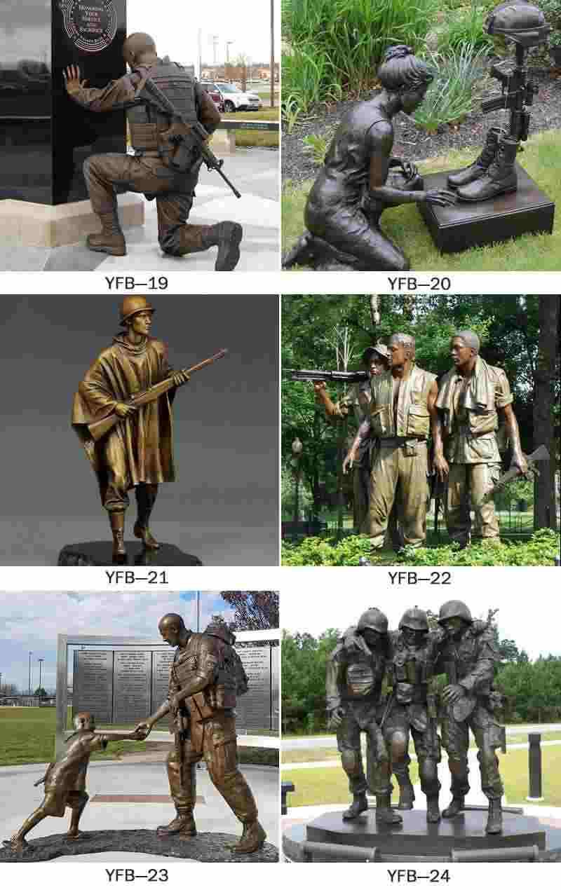 Bronze Military Sculpture Monuments