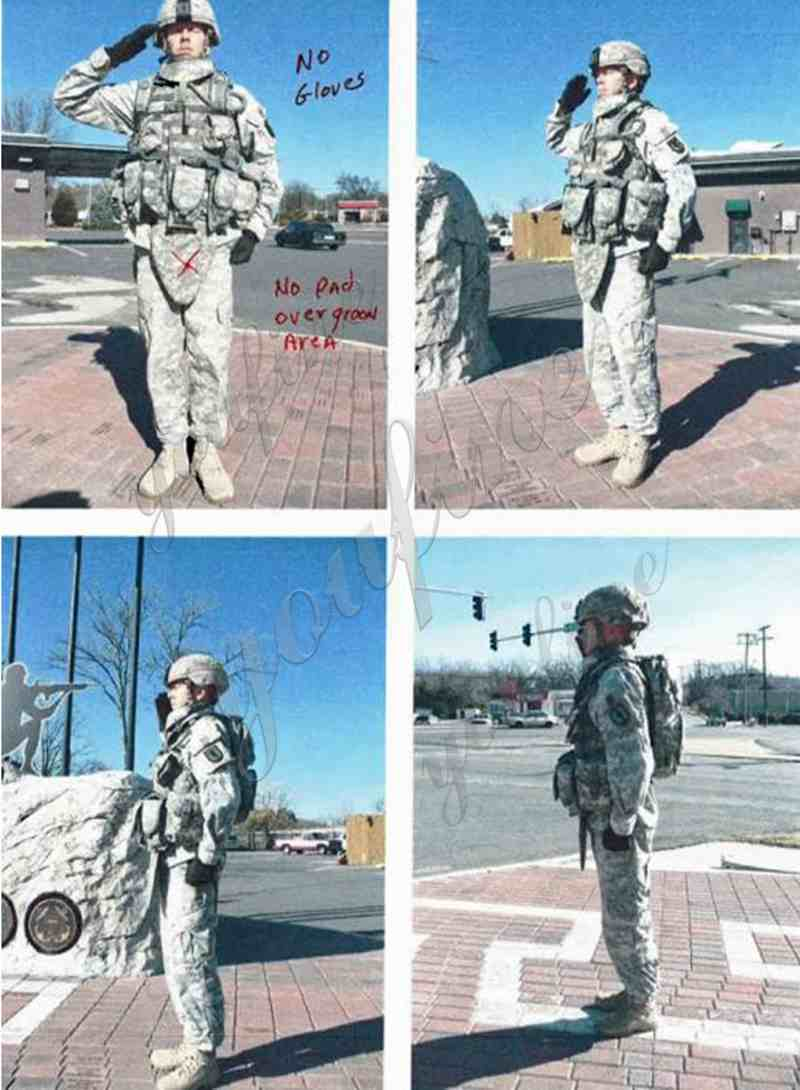 Bronze Military Sculptures