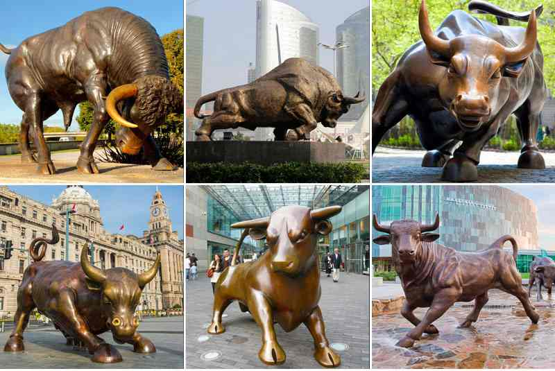 Casting Bronze Bull Sculpture