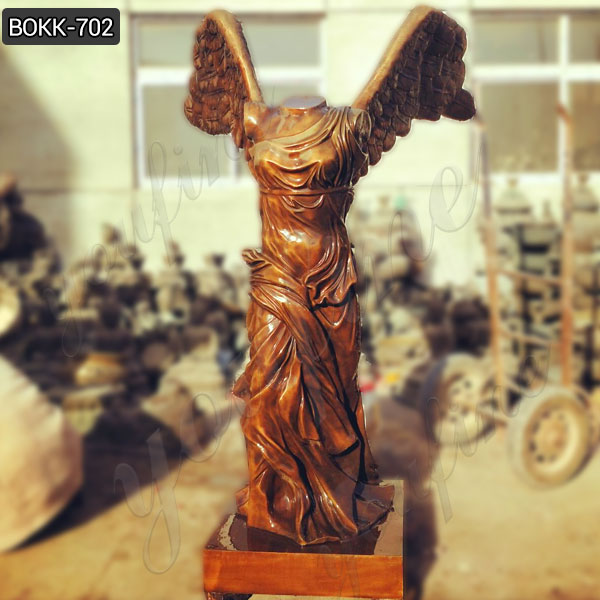 Famous Ancient Greek Winged Victory of Samothrace Bronze Statue Replica Maker BOKK-702