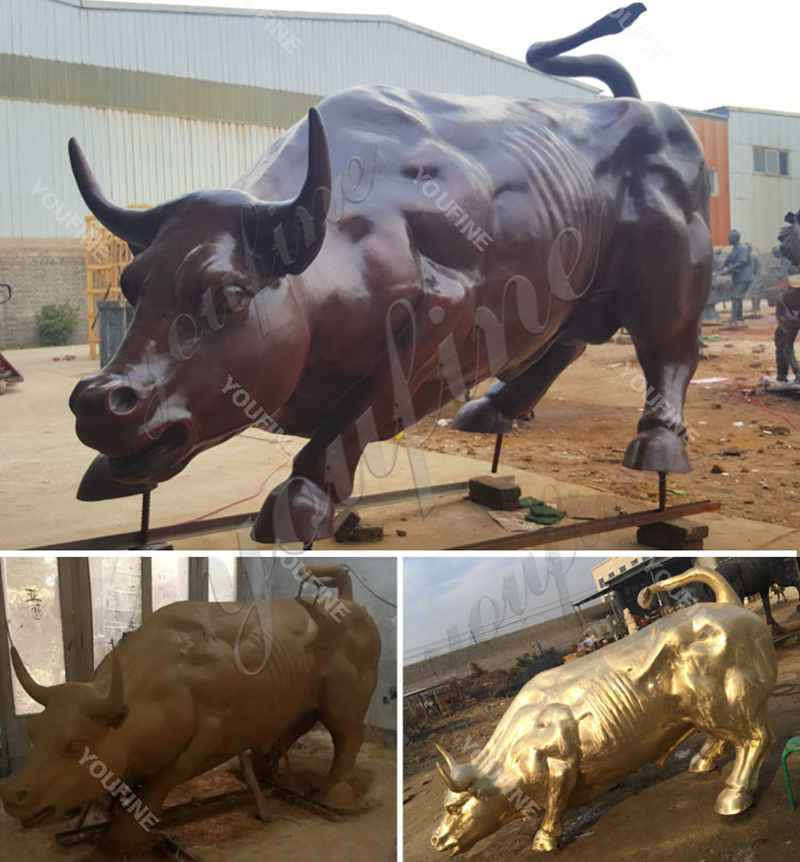 Famous Bronze Bull Sculpture