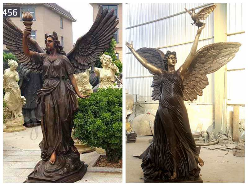 Antique Bronze Angel Statue for Garden