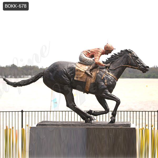 Hot-selling Large Size Famous Outdoor Bronze Black Caviar Statue Manufacturer BOKK-678