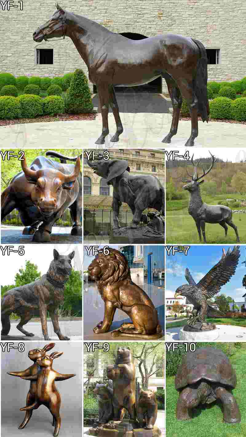 Casting Bronze Rottweiler Outdoor Sculpture