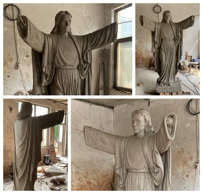 Heart of Jesus Statue Church Decoration Large Size for Sale BOKK-641