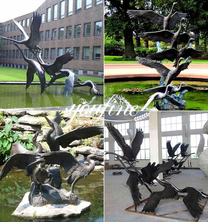 Life Size Bronze Sculptures Garden Decoration for Sale BOKK-780