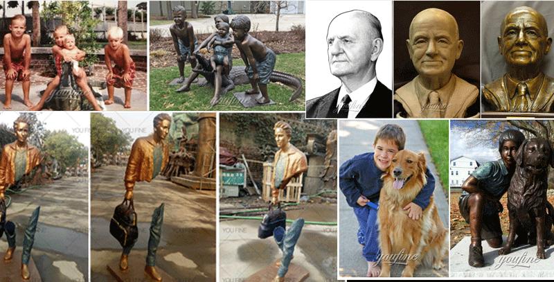 Life Size Bronze Woman Statue Garden Decoration for Sale BOKK-872 (1)