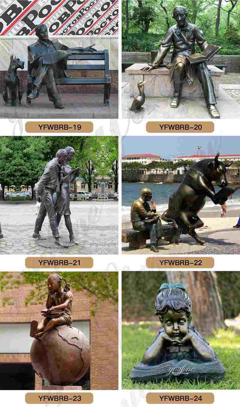 Life Size Bronze Woman Statue Garden Decoration for Sale BOKK-872 (5)